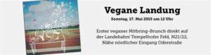 Vegane-Landung-breit